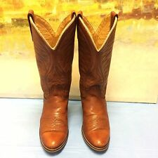 Acme  Womens Brown Cowboy Western Boots Size 6 C