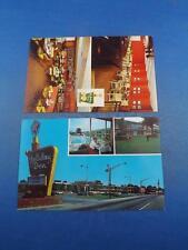 POSTCARDS HOLIDAY INN HOTEL MOTEL LOT 2 CLEVELAND TENNESSEE & OCALA FLORIDA