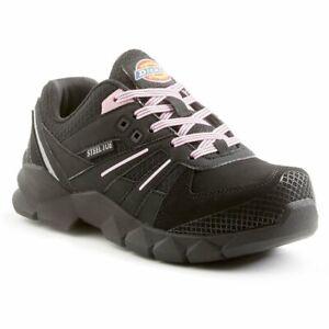 Dickies Women's Rook Slip Resistant Steel Toe Work Shoe