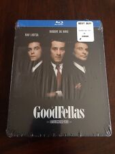 Goodfellas Blu-ray Disc Best Buy RARE OOP SEALED STEELBOOK NEW SAME DAY SHIPPING