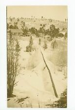 Clay Center KS Antique RPPC Photo—Water Pipeline from Springs—Infrastructure 10s