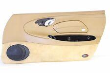 Porsche 986 Boxster Passenger Side Door Panel Interior Trim Leather Savanna Tan