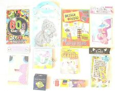 Children's Assorted Art & Craft 10 Packs of Kits/Sets for Kids activities & Fun