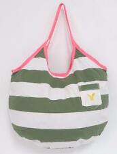 American Eagle Outfitters Beach Fun Green White Stripe Tote Bag Purse New NWT