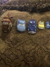 Disney Cars Diecast Mater, Doc,sally, Luigi, Guido
