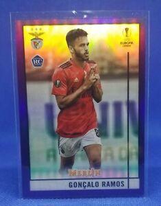 Goncalo Ramos 2020-21 Topps Merlin Chrome UEFA Purple Refractor /299 Rookie