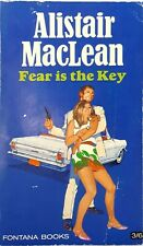 Fear is the Key by Alistair MacLean vintage paperback 1968 action revenge Mexico
