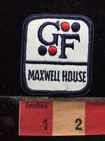 Vtg MAXWELL HOUSE COFFEE BY GF FOODS Patch - Advertising / Uniform 74YH