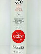 REVLON PROFESSIONAL NUTRI COLOR CREME 100ML FIRE RED (600) TREATMENTS