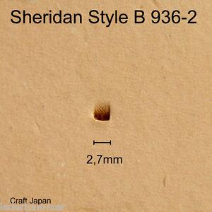 Punziereisen Sheridan Style B 936-2 - Beveler - Craft Japan