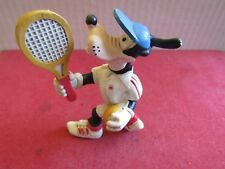 Vintage Goofy to Play Tennis PVC Figure Walt Disney Productions Maia Borges