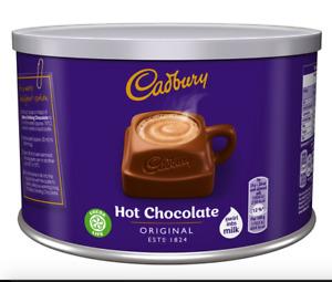Cadbury Instant Hot Chocolate Drink - Add Milk Add Water - 55 Serving Tub 1Kg