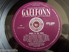 "ANGUS MORRISON - DANCE TO THE PIPES - 10"" LP / RECORD - GAELFONN - GTC.6301"
