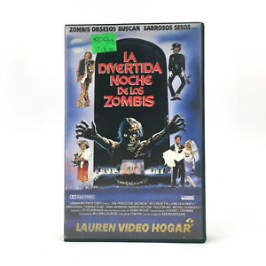 LA DIVERTIDA NOCHE DE LOS ZOMBIES. Return of the Living Dead 2 SCI-FI TERROR VHS