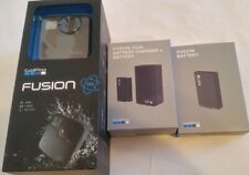 New GOPRO Fusion 360 Degree Digital Camera + 2 Extra Batteries & Charger Bundle