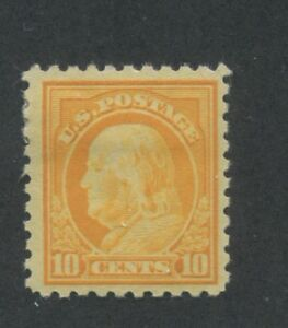 1916 US Stamp #472 10c Mint Hinged F/VF Original Gum