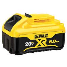 New Dewalt DCB206 20V 20 Volt Max XR 6.0Ah Lithium Ion Battery Li-Ion NIB