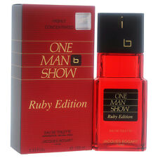 One Man Show by Jacques Bogart for Men - 3.33 oz EDT Spray (Ruby Edition)