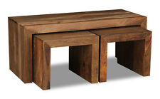Cuba Natural Sheesham Furniture Long John (c27nw)