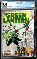 Green Lantern #25 Silver Age High Grade CGC 9.4  OW-W Pages