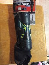 BRINE AERO-STRIKE SHINGUARD 2in1 Shell With Detachable Pad Size Large