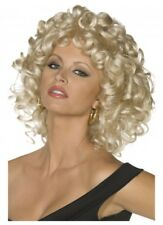 Deluxe Sandy Wig Grease Blonde Womens Ladies Fancy Dress Costume Last Scene