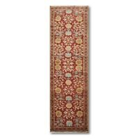 "2'6"" x 10' Runner Hand knotted Turkish Oushak Vegetable Dyed 100% wool Area rug"