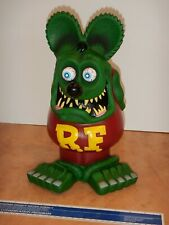 """LARGE - 13 INCHES TALL - FUNKO RAT FINK, VINYL - ED """"BIG DADDY"""" ROTH, NEW"""