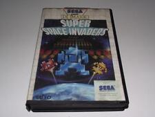 Super Space Invaders Sega Master System PAL Preloved *Complete*