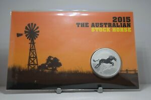 The Perth Mint 2015 Australian Stock Horse Silver Coin (Max. 1,000 mintage)