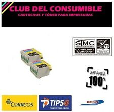 10 X CARTUCHOS  T1281,T1282,T1283,T1284 NON-OEM PARA EPSON Stylus Office BX 305