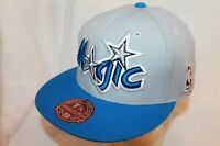 Orlando Magic Fitted Hat Cap The XL Logo 2Tone Magic by Mitchell & Ness