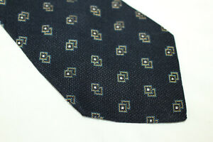 HOLLIDAY BROWN Silk tie Made in England F14467