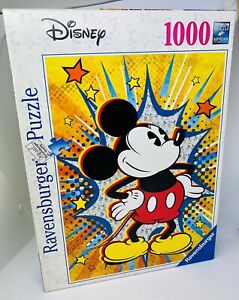 Ravensburger Disney Retro Mickey Mouse Puzzle 1000 piece RB15391-6