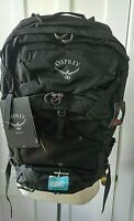 Osprey Manta 34 Hydration Pack Backpack Black w/ Rain-cover New in Package