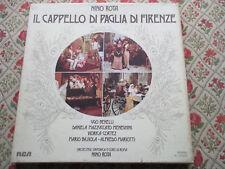 NINO ROTA IL CAPPELLO DI PAGLIA DI FIRENZE 1975 ITALIAN IMPORT RCA 2LP BOXSET