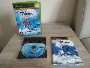 Ski Racing 2006 - UKV Microsoft Xbox Original Complete with Manual ENGLISH COVER
