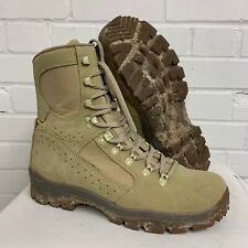 MEINDL DESERT HIGH LIABILITY FOX COMBAT BOOTS  Size: 10 , British Army Issue