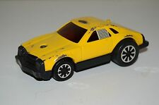 Tonka Race Care Vintage 1970's Yellow Friction Racing Olds Cutlass NEEDS REPAIR