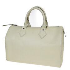 Authentic LOUIS VUITTON Speedy 25 Hand Bag Epi Leather Ivoire M5922J 30EZ867