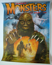 Famous Monsters Filmland POSTER - CREATURE BLACK  LAGOON Cover #266 HAND SIGNED