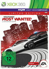 Need for Speed: most Wanted -- Limited Edition (Microsoft XBOX 360) bene