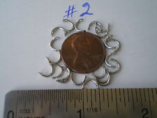 500 PCS. STAINLESS STEEL EASY SPIN CLEVISES SIZE #2, MAKE IN LINE SPINNERS