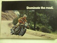 1970 Honda CB-750 K1 Four Cylinder motorcycle sales brochure (Reprint) $7.50