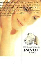 PUBLICITE ADVERTISING  1999  DR PAYOT cosmétiques Design visage