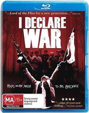 I Declare War (Blu-ray, 2014) BRAND NEW & SEALED!