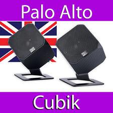 PALO ALTO CUBIK 2.0 POWERED DESIGNER SPEAKERS OPEN BOX