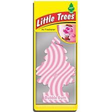 4 X pequeño árbol Mágico Ambientador Coche Bubble Gum Freshner 2D