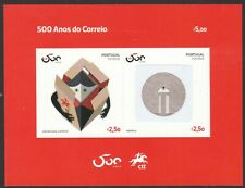 PORTUGAL 2020 A TIME FOR HOPE FIGHT VIRUS 19 PANDEMIC SOUVENIR SHEET OF 2 STAMPS