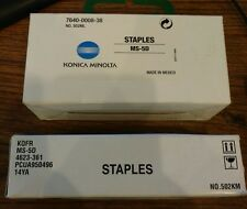 TWO PACKS 0f MS-5D Staples - 7640-0008-38 Konica Minolta FAST SHIPPING! #N5